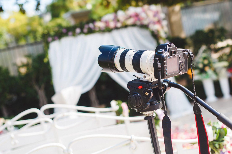 Appareil de haute technologie pour vidéo de mariage